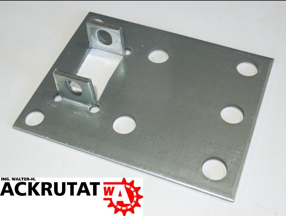 2 Dexion Palettenregal Regal Rahmen Ständer Fuß Füße Fußplatte P 90 ...
