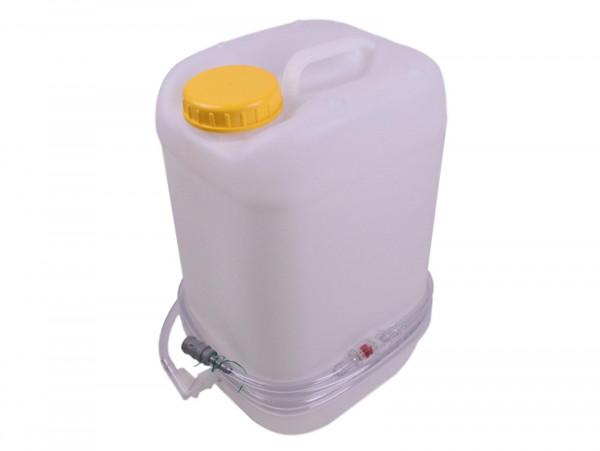 Aquamatik Wasserkanister Fallwasserbehälter Kanister Batterie Wartung