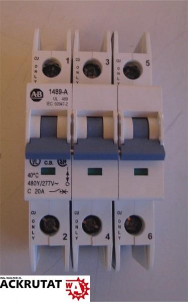 Allen-Bradley 1489-A3C200 Serie A Leitungsschutzschalter Circuit Breaker