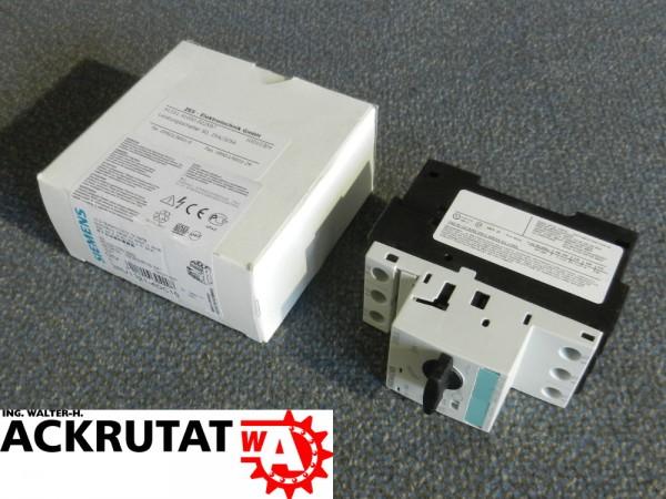 Siemens Sirius 3RV1321-4DC10 E05 Leistungsschalter Schalter Circuit Breaker