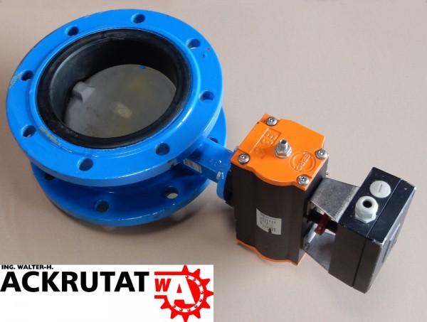 Absperrklappe Drosselventil Z011 Stellmotor Klappe EB8 Ventil DN200 Sperrklappe