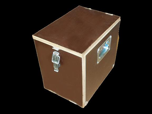 1x Holzkiste Transport Box Konzertequipment