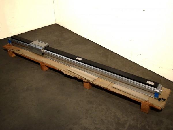 Festo pneumatischer Linearantrieb DGPL-63-1800-PPV-A-B-KF-GK-SH Wälzführung