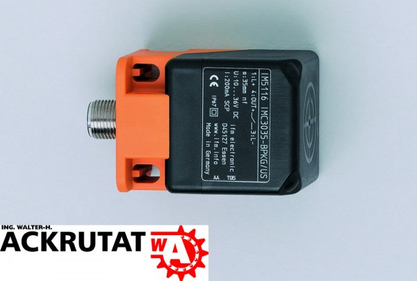 IFM inductive Sensor IM5115 Näherungsschalter effector 100 Schaltabstand 20 mm