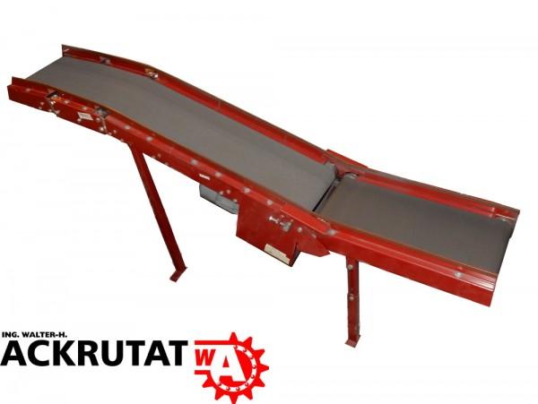 Rillengurtförderband Förderband L2000 Stückgutförderer Transportband