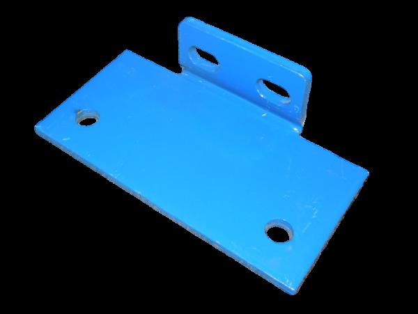 2x Schäfer PR600 Palettenregal Rahmen Fußplatte 90x165 mm