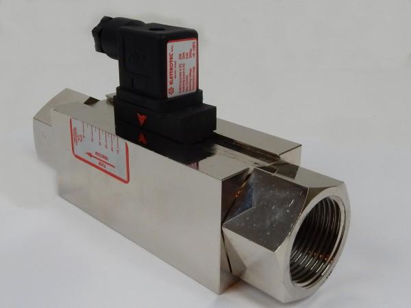 Elettrotec Strömungswächter IFE6R60 Durchflussanzeiger Strömungsmesser