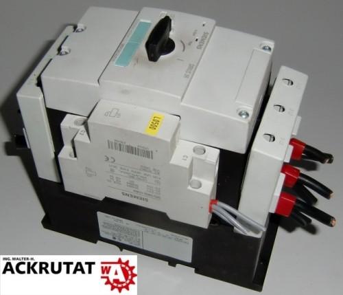 Siemens Sirius 3R 3RV1341-4JC10 3RV1902-1DB0 3ZX1012-0RV04-1AA1