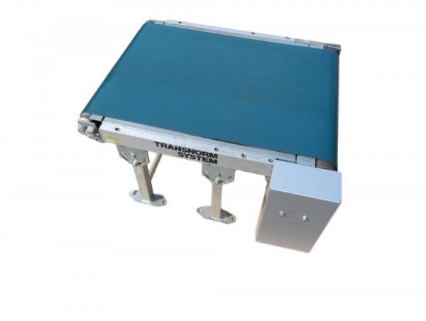 Förderband Transnorm Kleinförderband Gurtförderer PVC Glattgurt B 500 mm Stückgut