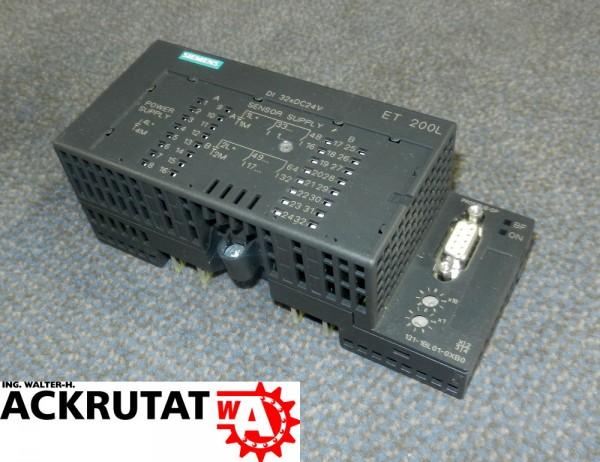 Siemens S7 SPS Erweiterungsmodul ET 200L Elektronikblock 6ES7 131-1BL01-0XB0