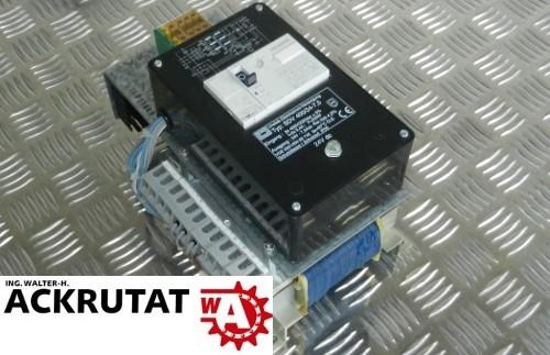 Block Unstab. Gleichstrom-Versorgung Transformator SDV 400/24-7,5 Wandler