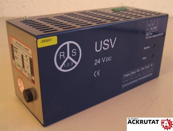 Robers & Co. USV5/26 Unterbrechungsfreie Stromversorgung 24 VDC