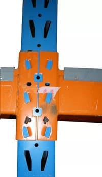 feralco Palettenregal Rahmen Profil Raster Lochmuster
