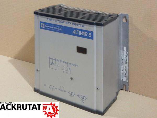 Frequenzumrichter Telemecanique Altivar 5 ATV 151075Q Inverter 0,75kW Wandler