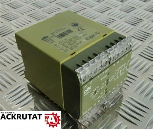 Pilz PNOZ V 3s 24 V DC Sicherheitsrelais Relais 474789 10AF/6AT 6AF/4 AT mit OVP