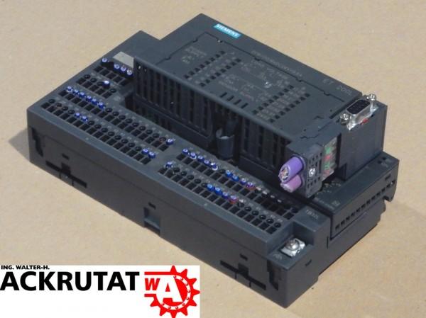Siemens Simatic S7 ET 200L SPS Modul 6ES7-131-1BL01-0XB0 + 6ES7-193-1CL10-0XA0