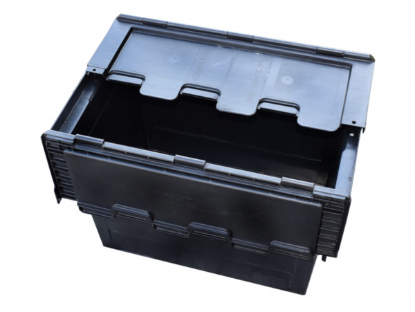 Lagerkiste Kunststoff-Box Stapelbox für Keller Garage Dachboden Garagenfund