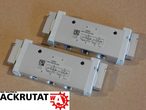 2x Ventil 574267 Festo VUWG-L18-T32U-M-G14 Pneumatikventil Muffenventil Pneumatik
