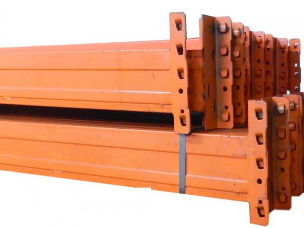 10x Jungheinrich Typ S Palettenregaltraverse Regalauflage LW 3700 x 155 x 50 mm