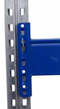 Bito P1 Palettenregal Rahmen Profil Raster Lochmuster