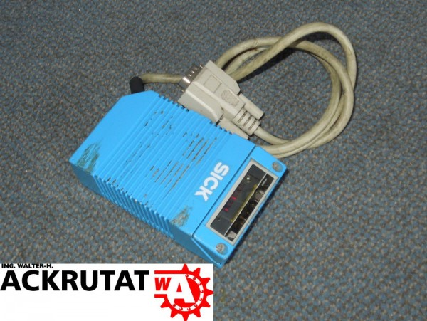 Sick Barcodescanner CLV-210-0010 Scanner Laser 1011901 Scanner 24V CLV210