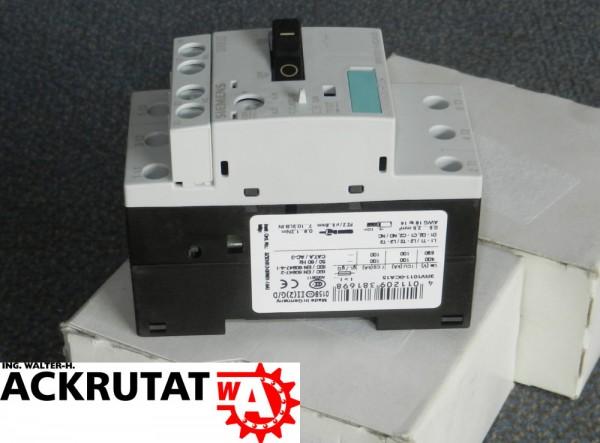 2 St Siemens Sirius 3RV1011-0CA15 Leistungsschalter Schalter Motorschutzschalter