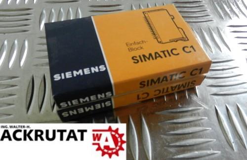Siemens Simatic C1 Einfacher Block 6EC1 600-3A Neu