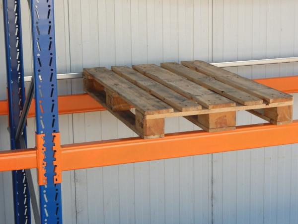 2x Schäfer PR 350 PR 600 Durchschubsicherung Palettenregal, verzinkt, Stahlprofil