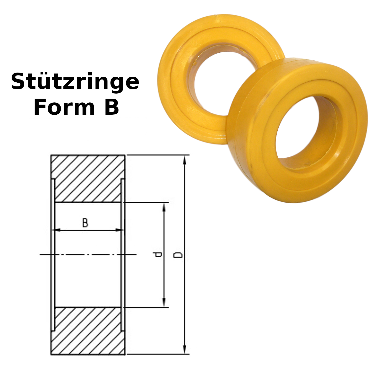 Stützringe Form B
