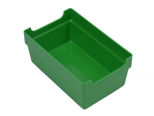 Kiste Kleinteilbox Kleinteilbehälter grün Kunststoff