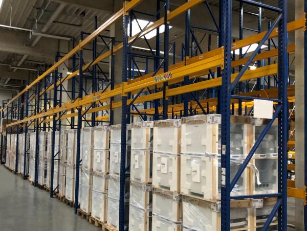 H4500 L14900 Jungheinrich Typ T Palettenregal Schwerlastregal LW3600 Lagerregal
