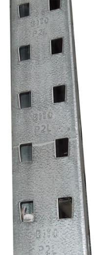Bito p2l Palettenregal Rahmen Profil Raster Lochmuster