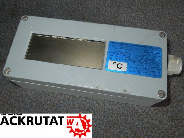 Knick Digital-Anzeiger 803R Anzeige Modul ohne Hilfsenergie Vor-Ort-Gehäuse