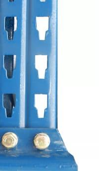 mecalux Palettenregal Rahmen Profil Raster Lochmuster