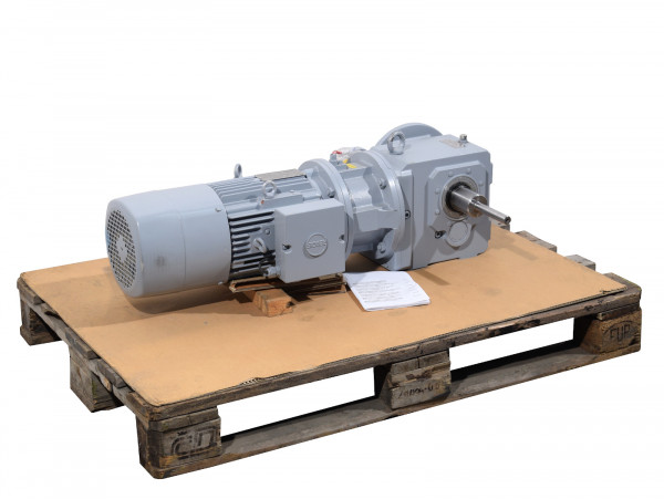 Stöber Kegelradgetriebemotor K513VF0220MR40D132S4 Getriebemotor i= 21,992 : 1