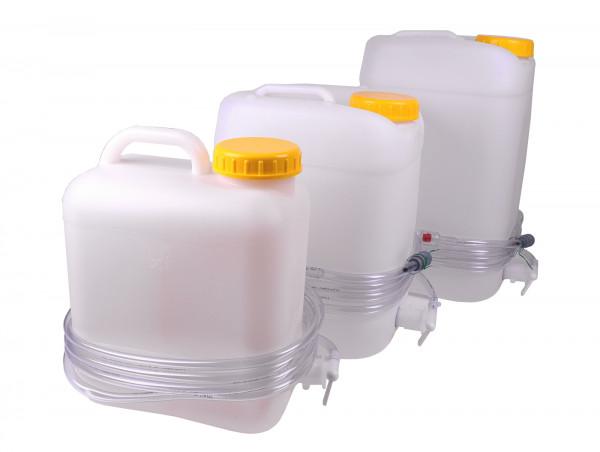 Aquamatik Behälter 10/20/30 Liter Staplerbatterie Wasserkanister Fallwasserbehälter