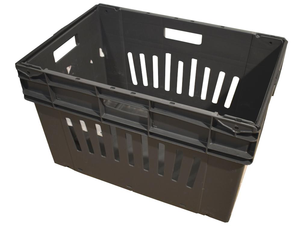 1 St Bito MB 6442 Mehrwegbehälter Industriebox Lagerkasten grau Stapelbehälter
