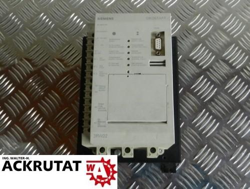 Siemens Sikostart Sanftstarter 3RW2226-1AB15 Sanftanlaufgerät