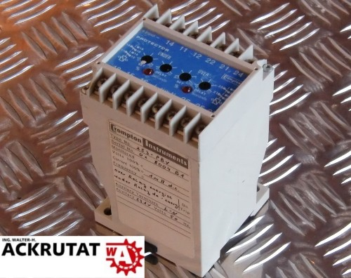 Crompton Schutzrelais Relais Protector 253-PBV 1mA DC 231V L-N