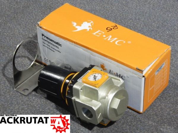 "E-MC Eco-Line Druckregler EIR 4000-04 Gewinde 1/2"" Druckminderer 1,5-10 bar"