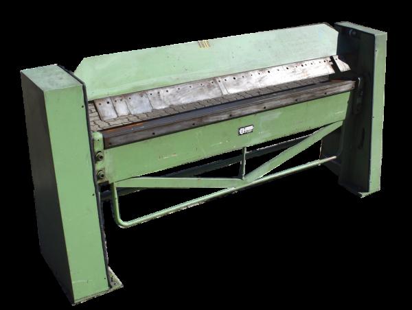 HM manuelle Schwenkbiegemaschine HS-7S Abkantmaschine 2020 x 2,0 Abkantbank