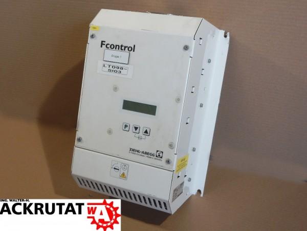 Ziehl-Abegg Fcontrol FKDM7AME Frequenzumrichter Sinusfilter Frequenzumwandler
