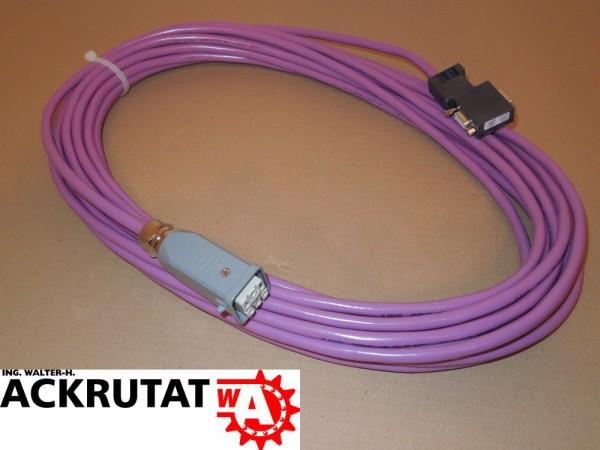 Siemens S7 6ES7972-0BB12-0XA0 Kabel Harting Steuerleitung MPI BUS