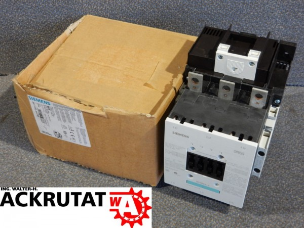 Siemens Sirius Leistungsschütz 3RT1055-6AP36 Schaltschütz 3RH1921-1DA11 E01