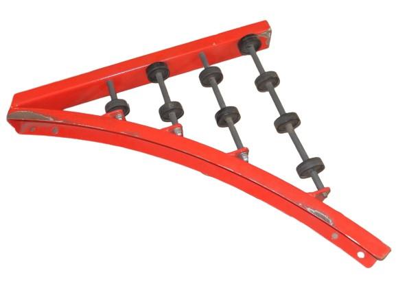 Zulauf Einschleuser Kurvenförderband Weiche Verbindungsstück Einschleusemodul