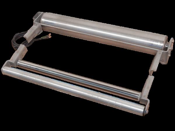 Interroll Joki Trommelmotor Antriebsrolle L 900 mm + Umlenkrolle Gurtförderband