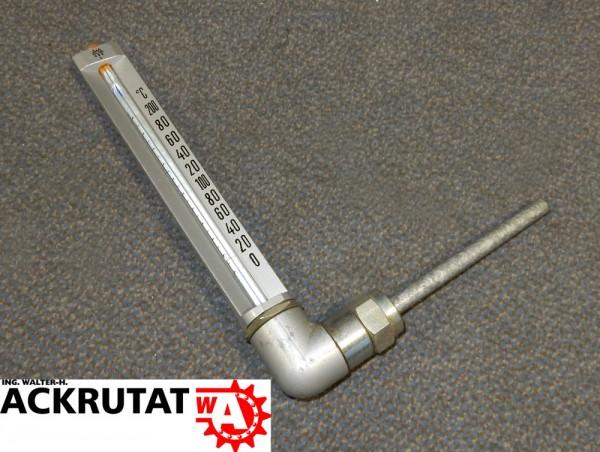 Maschinenthermometer TWG Thermometer NG 200 Temperaturmesser 200°C V-förmig