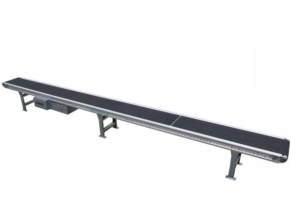 Förderband L6200 B510 - Gebhardt - Flachgurtförderer Förderstrecke Gurtförderer Rillengurt