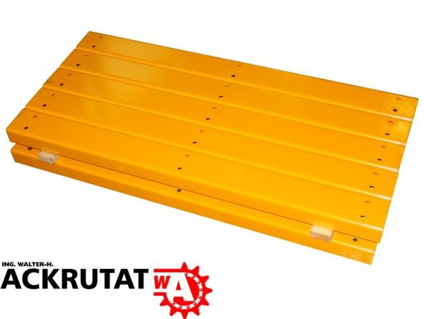10x Pfostenschutzprofil Palettenregal Regalschutz Rammschutz Elemente