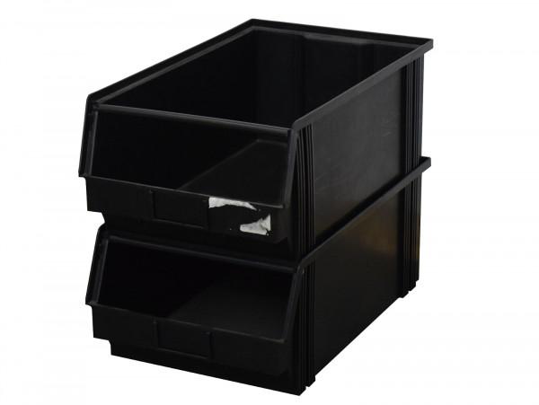 stapelbar Sichtlagerkasten ESD-Behälter Depofix 2